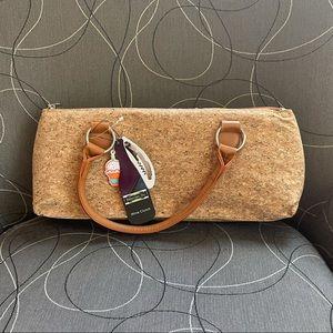 NWT Primeware Inc. Cork Wine Bottle Handbag Purse